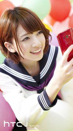 乃木坂46 (nogizaka46)  Hashimoto Nanami (橋本 奈々未) ~ HTC J Butterfly ~ Promo Pic