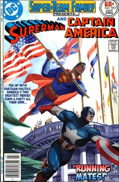 Super-Team Family: The Lost Issues!: Superman and Captain America