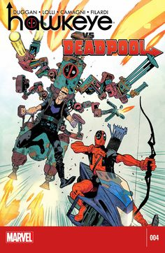 Hawkeye vs. Deadpool To get more Ecomics Visit our website LibroAudioo.com