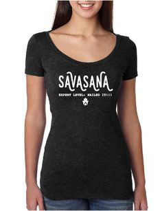 Savasana : Nailed It - Ladies Scoop Neck Fitted
