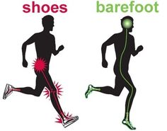 Are we meant for shoes? Go from injury to utilizing barefoot running techniques to get in shape for a Half Marathon. Barefoot Running Shoes, Walking Barefoot, Going Barefoot, Running Workouts, Running Tips, Trail Running, Running Drills, Running Quotes, Fitness Workouts