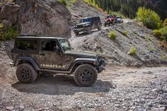 """TeraFlex Jeep Build: 2015 JK Willy's Wheeler (Tank) 2.5"""" Coil Lift Kit, 0.5""""  Front Spring Spacers, 1"""" Rear Spring Spacers, 35"""" tires, 17"""" wheels, etc.  Click to see Doug's complete build list!"""
