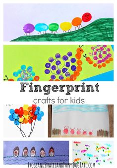 Fingerprint Crafts for Kids - FSPDT