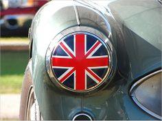Union Jack, car, light