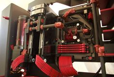 [Build Log] Carbon Rose - MOTM Pics - IN WIN S Frame/ Carbon Fiber Tubing/ 2x GTX 980/ i7-4790k / Asus Formula VII