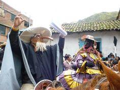Personajes de la navidad de Huancavelica, Perú.