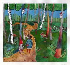 Welcome to the forest Aga Majewska