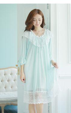 Sleepwear Women, Women's Sleepwear, Sleep Dress, Girly Man, Nightwear, Night Gown, Cool Outfits, Cold Shoulder Dress, Pajamas