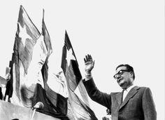 """""""¡Viva Chile, viva el pueblo, vivan los trabajadores! Éstas son mis últimas palabras, teniendo la certeza de que el sacrificio no será en vano. Tengo la certeza de que, por lo menos, habrá una sanción moral que castigará la felonía, la cobardía y la traición."""" • SALVADOR ALLENDE, Santiago de Chile, 11/09/1973, during the coup, the day he was murdered • 1908-1973"""