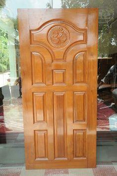New Interior Doors Front Door Design Wood, Home Door Design, Double Door Design, Pooja Room Door Design, Bedroom Door Design, Door Design Interior, Wood Front Doors, Wooden Door Design, Exterior Front Doors