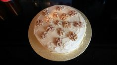 Keith's coffee and walnut cake 2014.