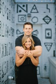 Gold Medalist Shawn Johnson Shares Her Adorable Engagement Photos - Style Me Pretty