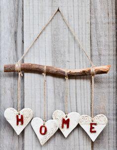 Australian Handmade Ceramics and Judaica - www.millerspotter… Australian Handmade Ceramics and Judaica - Valentine Decorations, Valentine Crafts, Valentines, Polymer Clay Projects, Diy Clay, Creative Crafts, Diy And Crafts, Creation Deco, Driftwood Crafts