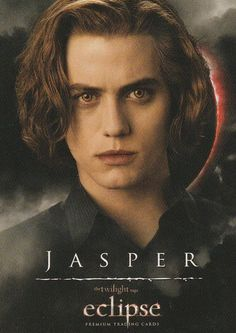 Twilight saga Eclipse trading card Jasper, 6