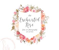 The Enchanted Rose Ready Made Logo | Sarah Made Design Co