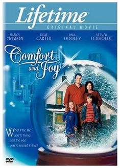 CHRISTMAS FLICKS - Lifetime Original's Comfort And Joy Christmas movie is a lovely romantic comedy and definitely a chick flick starring Nancy McKeon. Xmas Movies, Best Christmas Movies, Hallmark Christmas Movies, Christmas Shows, Hallmark Movies, Family Movies, Great Movies, Holiday Movies, Abc Family