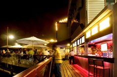 Lucky Shag Bar on Barrack Street Jetty, perfect Friday night atmosphere! Perth Bars, Bar Street, Perth Western Australia, Bars And Clubs, Fade Out, Restaurant Bar, New Homes, Places, Style Ideas