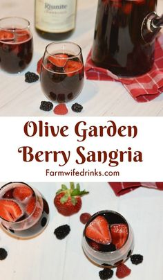 You Have Meals Poisoning More Normally Than You're Thinking That If You Love Olive Garden Berry Sangria, You Will Love This Sangria Recipe. This Mixed Berry Sangria Is The Perfect Amount Of Sweet And Dry To Serve To A Crowd Of Mixed Wine Drinkers. Olive Garden Berry Sangria Recipe, Sweet Sangria Recipe, Blackberry Sangria, Red Sangria Recipes, Olive Garden Recipes, Peach Sangria, Summer Sangria, Cocktail Recipes, Winter Sangria