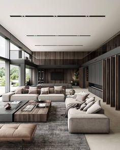 Home Room Design, Dream Home Design, Home Interior Design, Interior Architecture, Living Room Designs, House Design, Interior Ideas, Luxury Home Decor, Luxury Interior