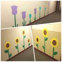 Hallway flowers!