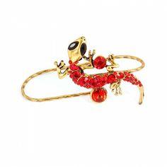 Gecko Palm Fashion Bracelet