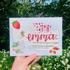 Mail Art, How To Be Outgoing, Jun, Picnic, Strawberry, Snacks, Cakes, My Love, Instagram