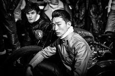 Belstaff Men's #AW15 #LCM Presentation | Photo cred: Merry Michau