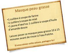Offrez vous un masque peau grasse naturel