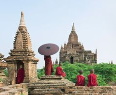 Bagán, antigua capital de reyes birmanos