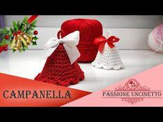 TUTORIAL: Campanella Natalizia - YouTube Advent, Crochet Hats, Youtube, Xmas, Knitting Hats, Youtubers, Youtube Movies