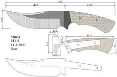 Чертежи ножей для изготовления. Часть 4 | LastDay Club image 25