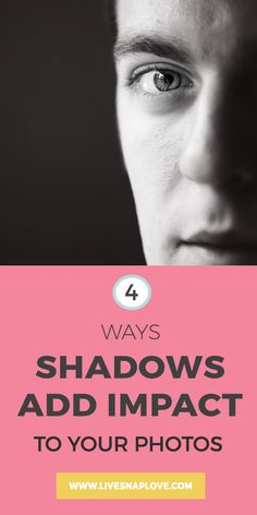 Photography Tips | Photography Lighting Tips | 4 Ways Shadows Can Add Impact To Your Photos!