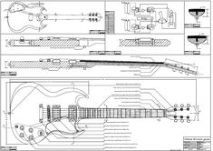 Full Scle P R S Mccartney Plan Guitar Bodies And Kits From