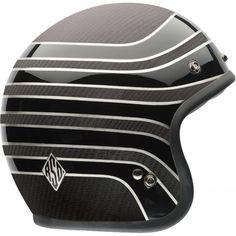 Bell Helmets Custom 500 Carbon RSD Talladega Helmet available at Motochanic.com
