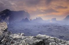 Volcanic scape, by Frans Lanting