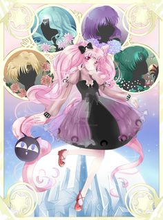 Black Lolita Moon by Ayasal on DeviantArt