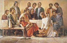 jesus lavando los pies: jesus lavando los pies: El tiempo había venido de nuevo para el año Fiesta de la Pascua en Jerusalén, y de todas partes de los grupos de mesetas de personas vinieron acuden a asistir a esta gran reunión religiosa.