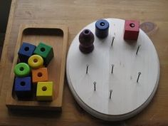DIY Fine Motor Beads activity for toddlers