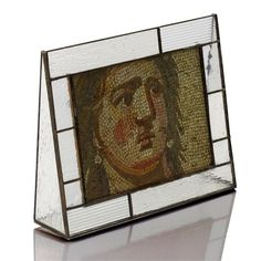 """Picture Frame -Clear Textures Style: IRIDIZED WITH ETCHING Size: 5"""" x 7"""" Horizontal Display"""