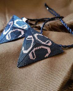 """VaV"" #arabiccalligrapy#miyuki#miyukidesign#hotcouturejewellery#takı#necklace"