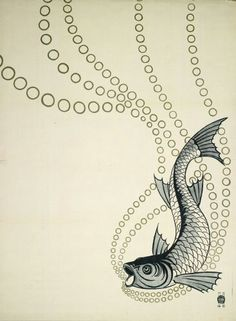In truth, a little Art Nouveau goes a long way. Characterized by organic shapes, curvilinear, sinuous lines and stylized, flowing elegance. Charles Rennie Mackintosh, Glasgow, Art Nouveau, Koloman Moser, Fish Illustration, Graphic Illustration, Vienna Secession, Graphic Art, Graphic Design