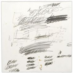 Cy Twombly  Letter of Resignation (detail),1959-67