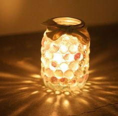 Lighting DIY! How to Make a Prism Mason Jar Light! | http://diyready.com/our-top-20-favorite-diy-projects-for-2014/