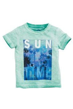 Buy Green Short Sleeve Photographic T-Shirt (3mths-6yrs) from the Next UK online shop