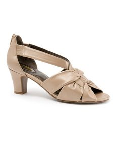 Another great find on #zulily! Trotters Taupe Charlie Sandal by Trotters #zulilyfinds