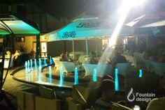 Lounge bar fountain Fountain Design, Portfolio Design, Lounge, Exterior, Bar, Interiors, Airport Lounge, Drawing Rooms