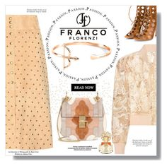 """Franco Florenzi"" by sans-moderation ❤ liked on Polyvore featuring Ganni, Gianvito Rossi, Chloé, Pussycat, Vince Camuto and francoflorenzi"