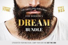 Job Seeker's Dream Bundle by Worn Out Media Co. on @creativemarket