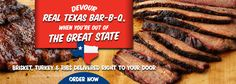 Rudy's Bar-B-Q... straight-up BBQ and the best place to bring guests -- there's nothing like it. http://rudysbbq.com/page/locations