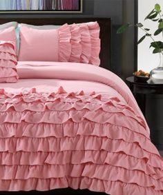 Country Pink Flamenco Taylor Comforter Set